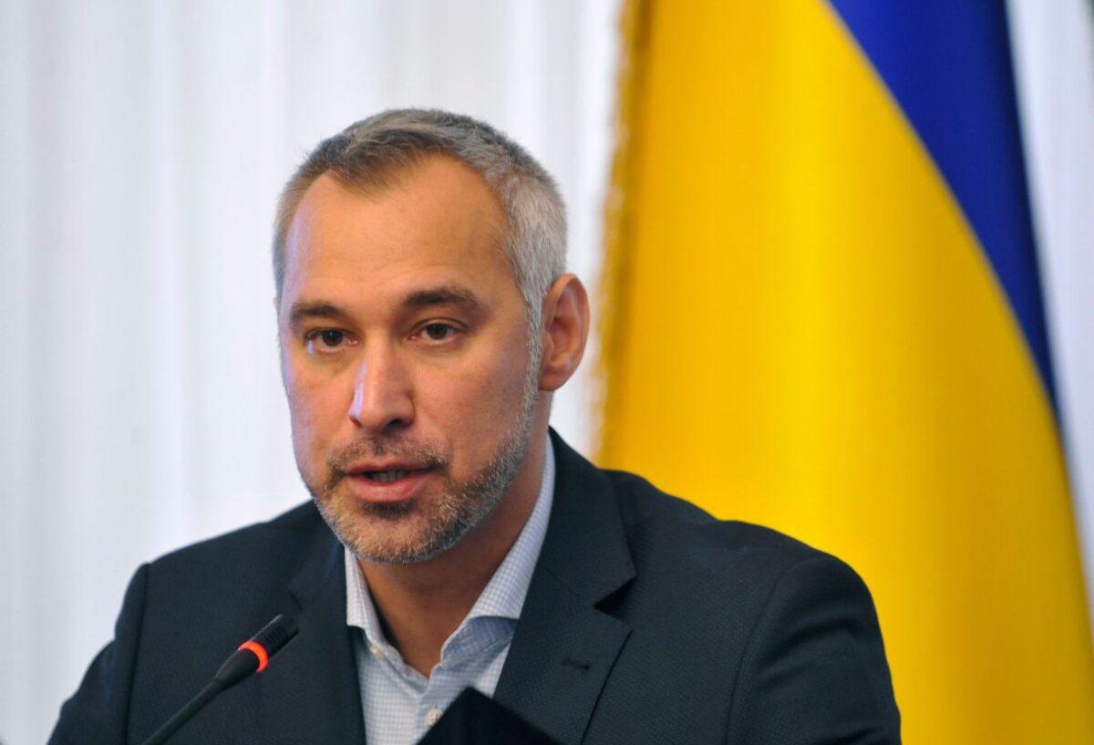 Ukraine's prosecutor-general Ruslan Ryaboshapka