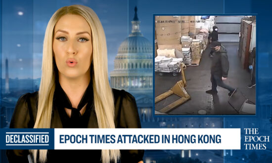 Epoch Times Attacked in Hong Kong