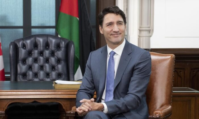 Canadian Prime Minister JustinTrudeauis photographed in Ottawa on Nov. 18, 2019. He will be all business on the afternoon of Nov. 20 when unveiling a cabinet to navigate a new era of minority government in a bitterly divided country. (The Canadian Press/Adrian Wyld)