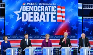 Impeachment Is First Topic at 5th Democratic Debate