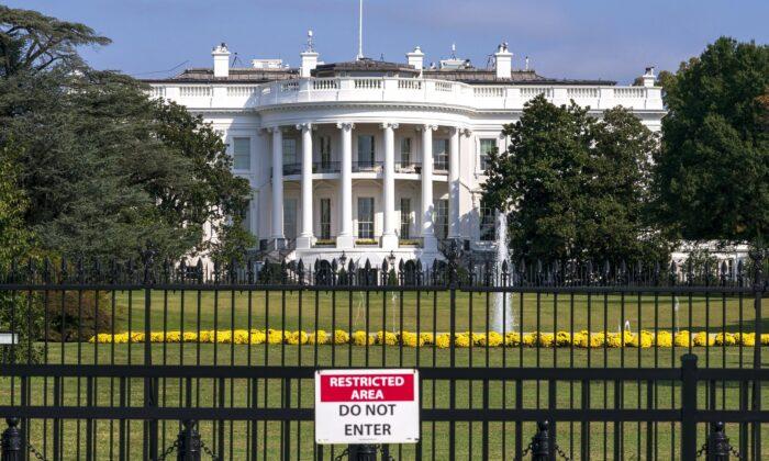 The White House is seen in Washington on Oct. 1, 2019. (J. Scott Applewhite/AP Photo)
