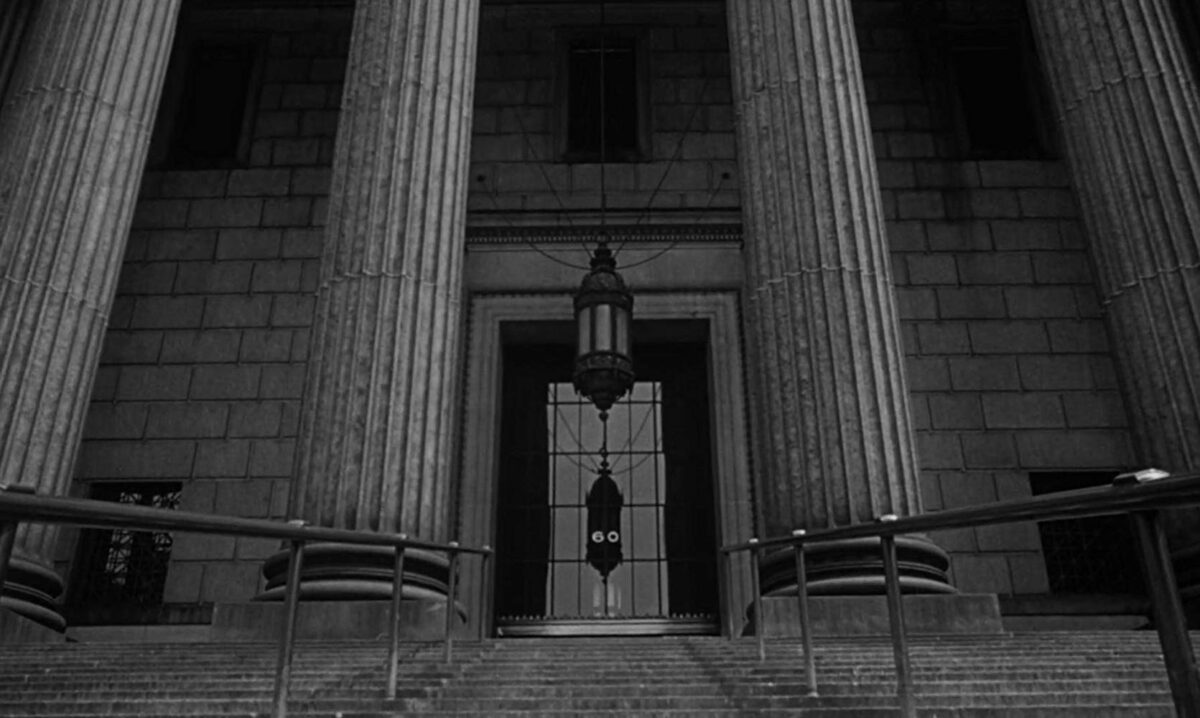 courthouse stairs and pillars