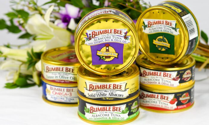 File photo of canned Albacore Tuna sold by Bumble Bee Foods. (Courtesy of Bumblebeefoods/Instagram)