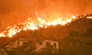 How a Family Fought to Protect Their Home During the Woolsey Wildfire
