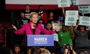 Warren Caught on Video Contradicting Her Children's School History