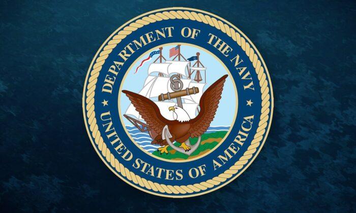U.S. Navy logo. (U.S. Navy)