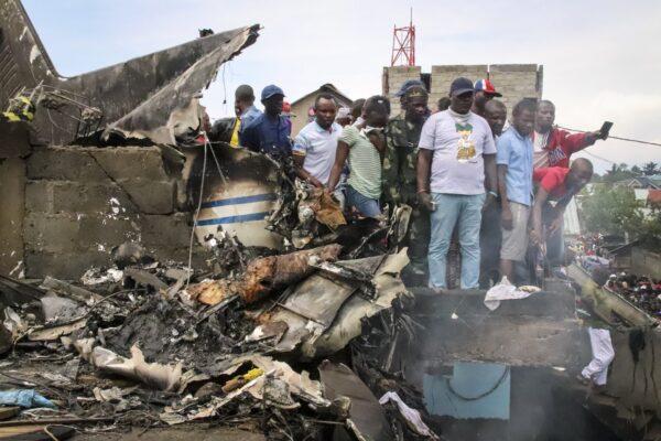 Plane crash in Congo