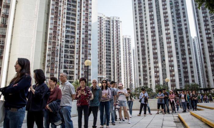 Hong Kong Sees Record Voter Turnout Amid Calls for Democracy