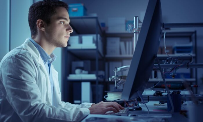 Clocking those long, unblinking hours at the computer is taking a toll on your eyes—and your sleep. (Stock-Asso/Shutterstock)