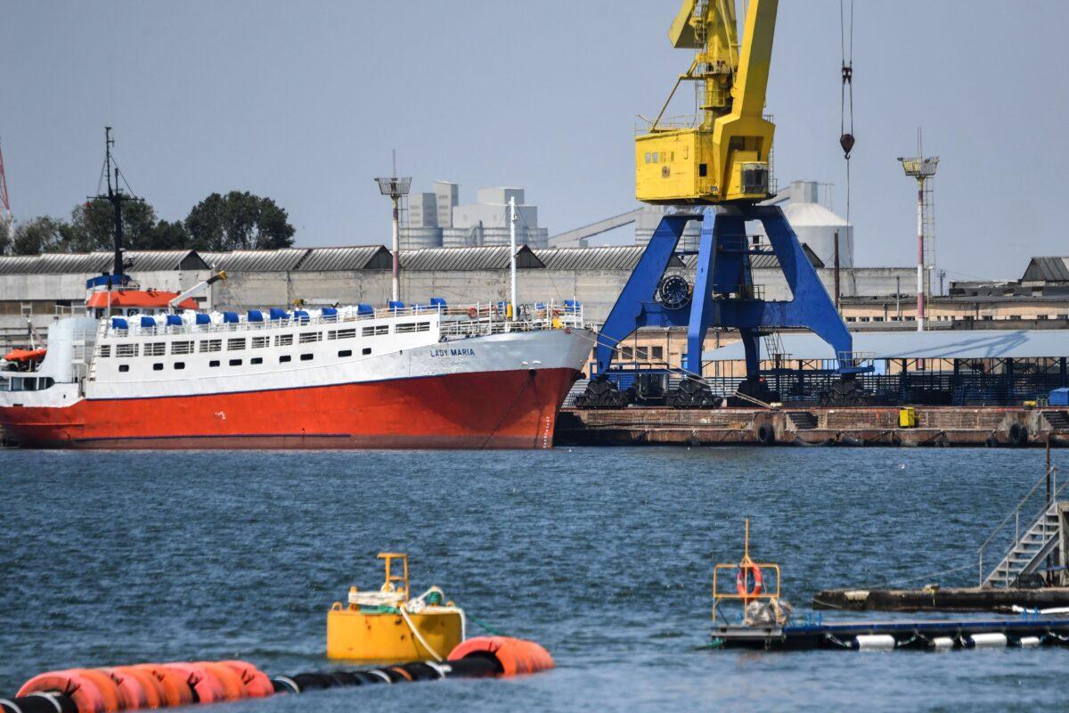 Romania's Midia port on the Black Sea