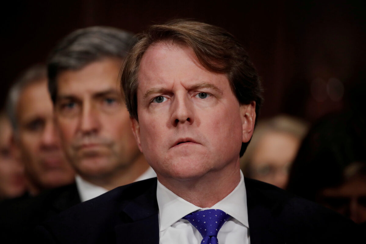 Judge Issues Temporary Stay of Her Own Order for Don McGahn to Comply With Subpoena