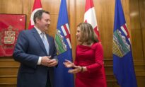 Kenney and Freeland Meet in Edmonton to Find Common Ground