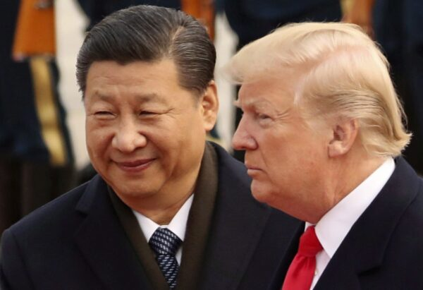U.S. President Donald Trump and Chinese leader Xi Jinping