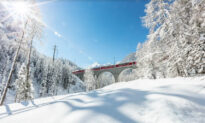 Take a Train Trip to a Winter Wonderland on These Scenic, Snowy Routes