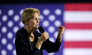 Warren Drops 14 Percent in New Poll, Third Place in 3 Straight Surveys