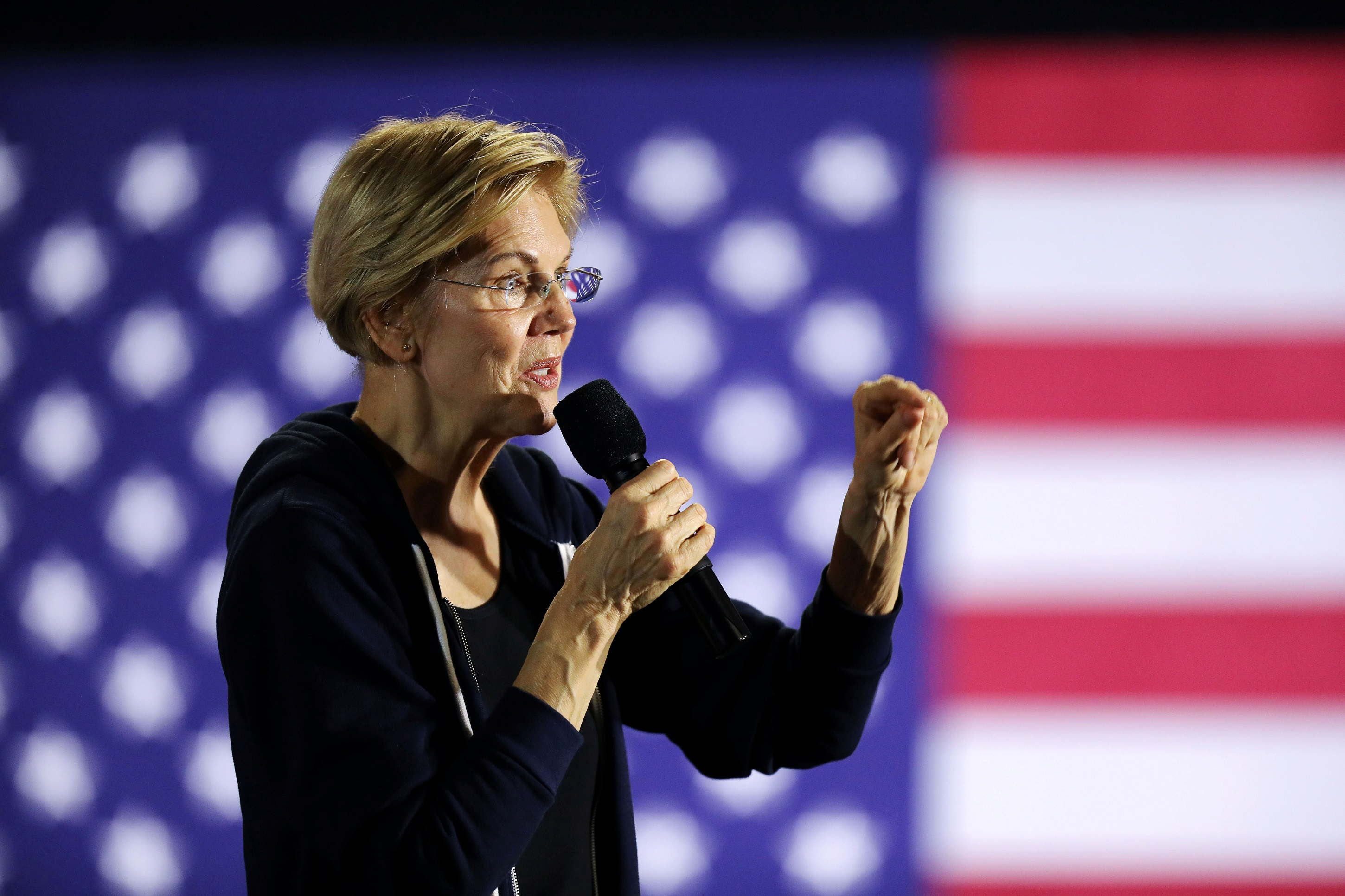 Warren's Wealth Tax Would Raise $1 Trillion Less Than Campaign Claims: Study