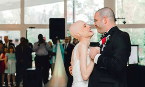 Bride-to-Be With Stage 4 Cancer Hangs On for Wedding Day Despite Doctors' Predictions