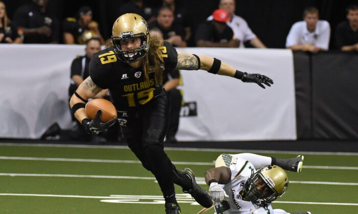A file photo of an Arena Football League game. (Ethan Miller/Getty Images)
