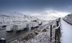 Hundreds Of Drivers Left Stranded Near Oregon-California Border After 'Bomb Cyclone' Causes Chaos