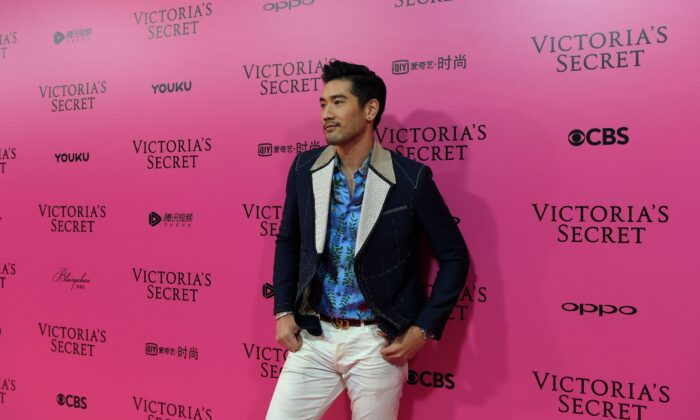 Canadian actor Godfrey Gao, a.k.a. Godfrey Tsao, poses in Shanghai on Nov. 20, 2017. (Chandan Khanna/AFP/via Getty Images)