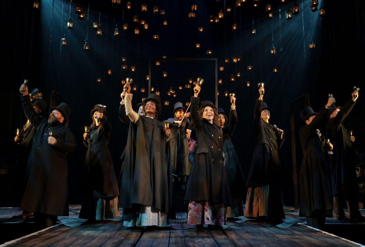 The Cast of A Christmas Carol on Broadway