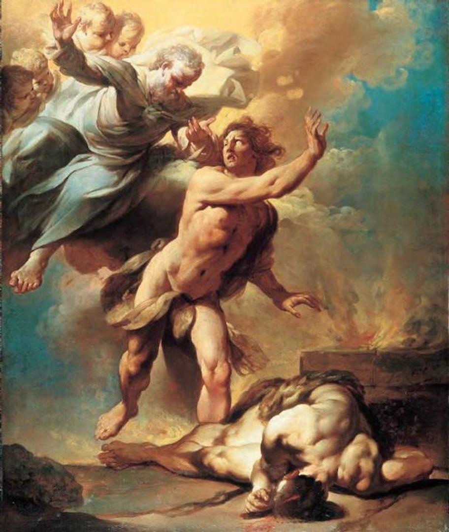 cain and abel Giovanni Domenico Ferretti