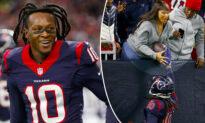NFL Star DeAndre Hopkins Gives Touchdown Ball to His Mother Blinded by Acid Attack
