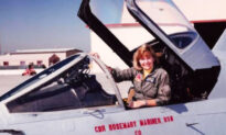 First Female Navy Fighter Pilot Gets Special Formation Flyover Salute After Passing Away