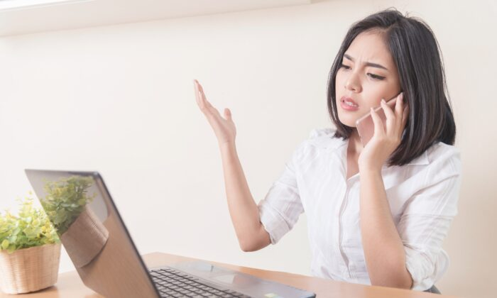 It's easy to get irritated after 10 minutes of pushing numbers trying to reach a human being, but what good does it do? And what would life be like if these common annoyances didn't bother you? (TWStock/Shutterstock)