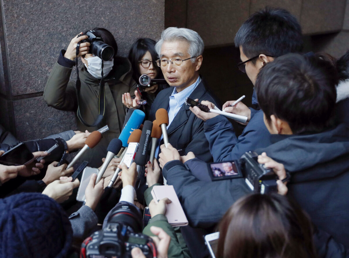 Junichiro Hironaka, chief lawyer