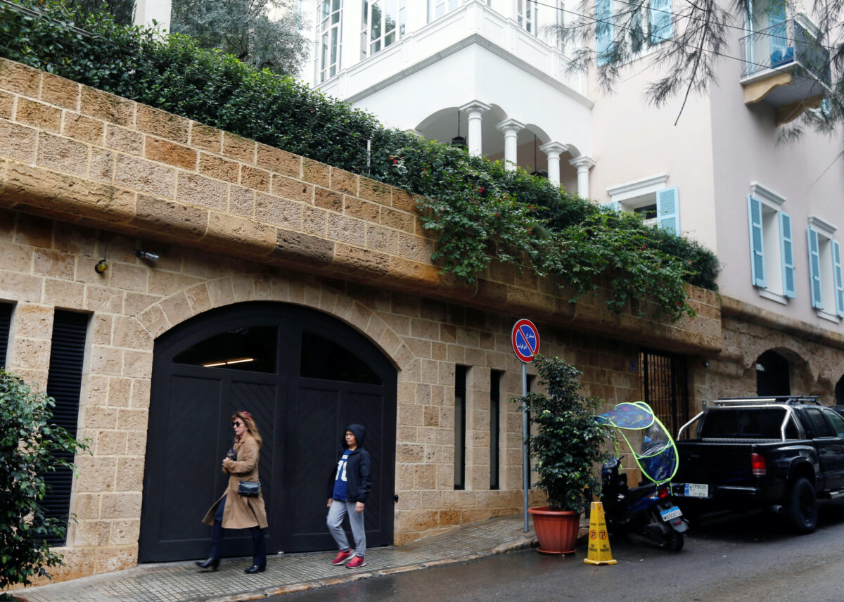 Carlos Ghosn house in Beirut