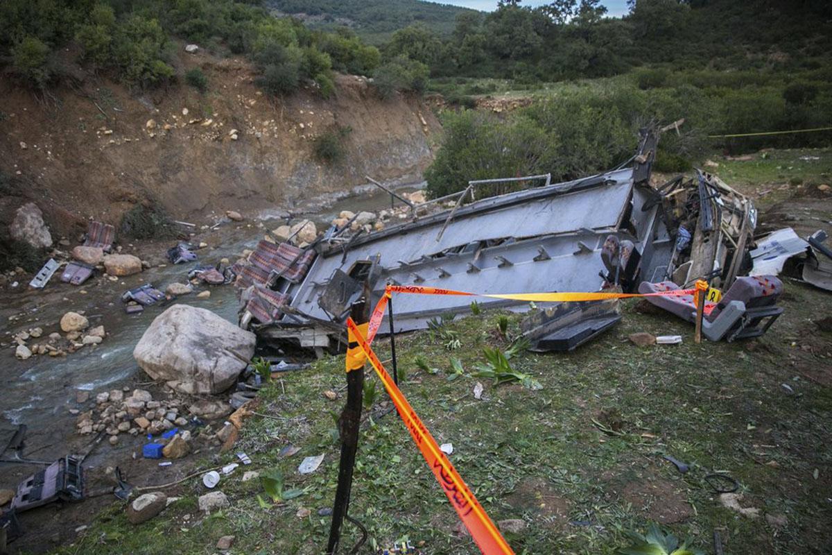 Officials: 22 Locals Killed, 21 Injured in Tunisia Bus Crash