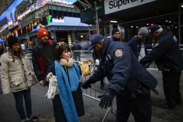 Times Square NYE