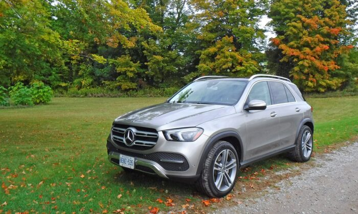 2020 Mercedes-Benz GLE. (By Benjamin Yong)