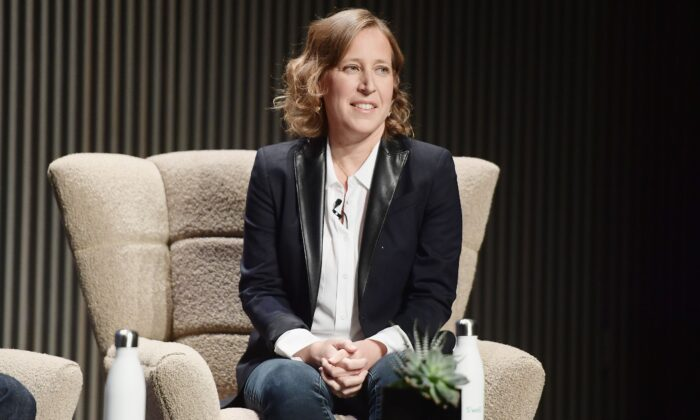 YouTube CEO Susan Wojcicki in San Francisco on Oct. 15, 2018. (Matt Winkelmeyer/Getty Images for WIRED25)
