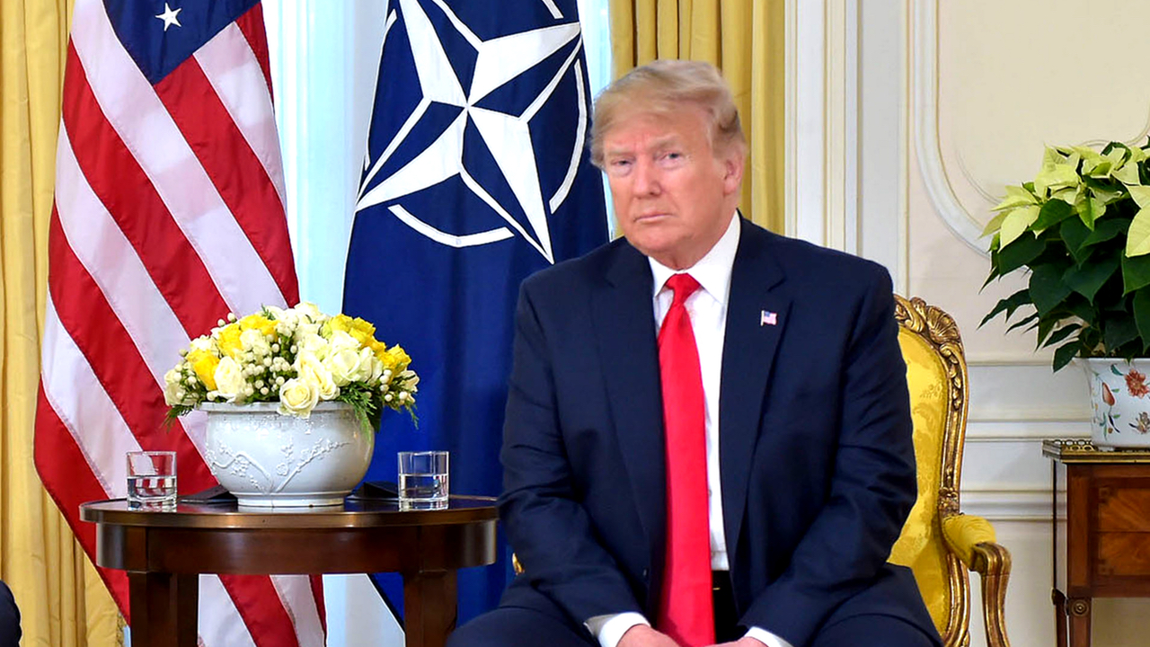 Trump ahead of NATO meeting