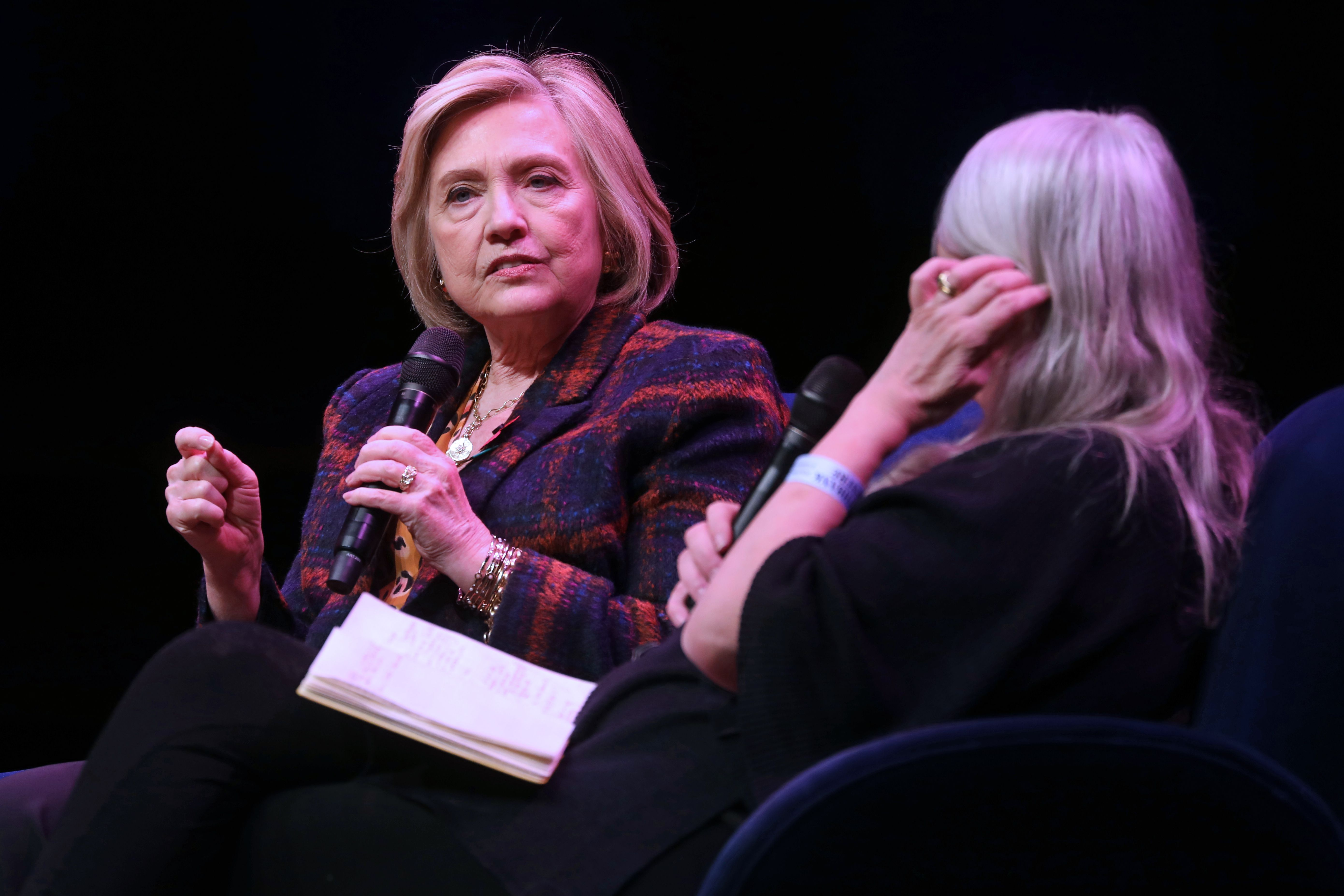 Hillary Clinton Says She's 'Deluged' With Requests to Run in 2020