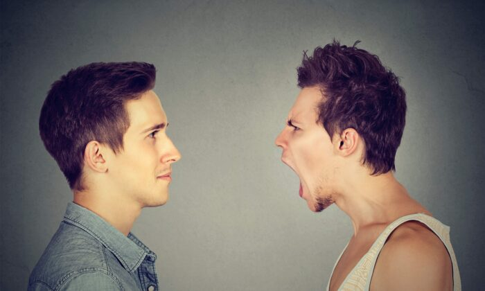 Listening, instead of responding to the anger, can turn a potential conflict into understanding.   (pathdoc/Shutterstock)