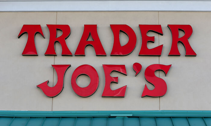 The Trader Joe's sign is seen on a store in Florida. (Joe Raedle/Getty Images)