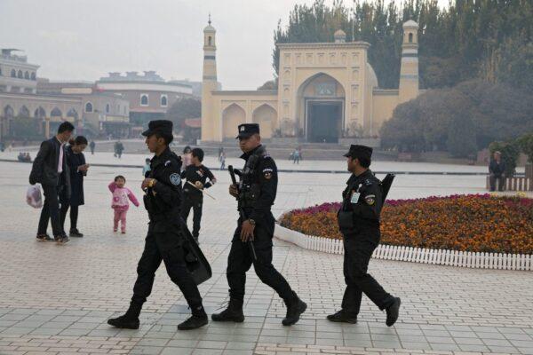 uyghur police in xinjiang