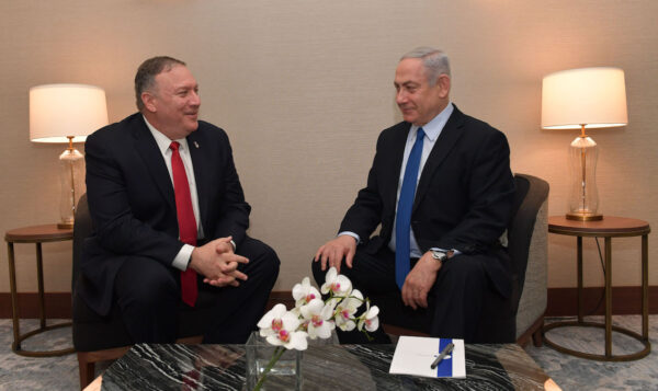 Israeli PM Benjamin Netanyahu Meets With US Secretary Of State Mike Pompeo In Lisbon