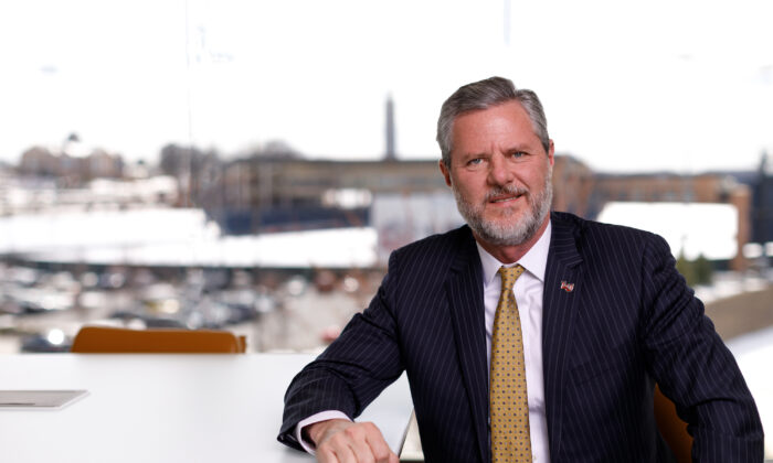 Jerry Falwell, Jr. (Courtesy Liberty University)