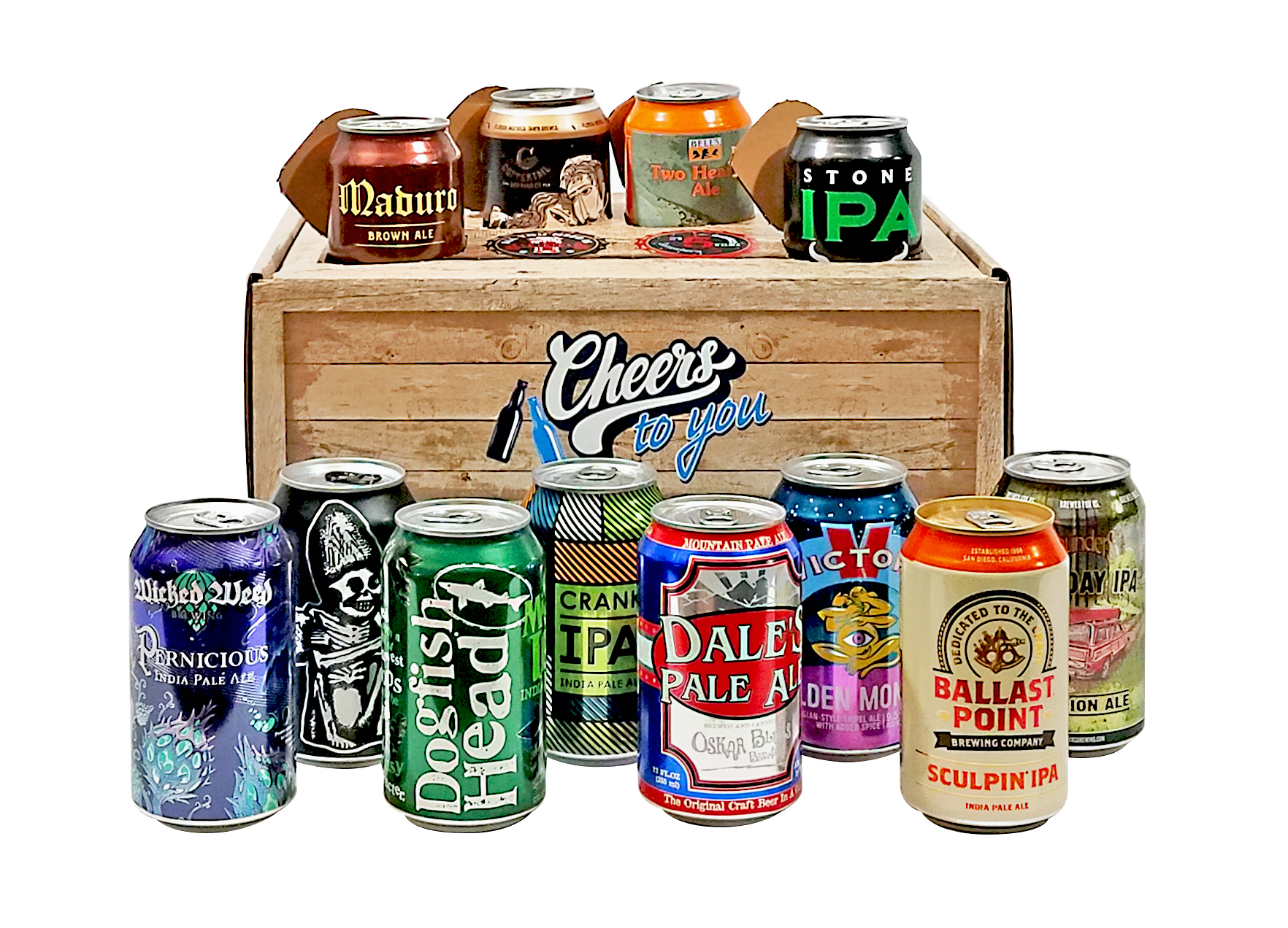 beer cans gift box