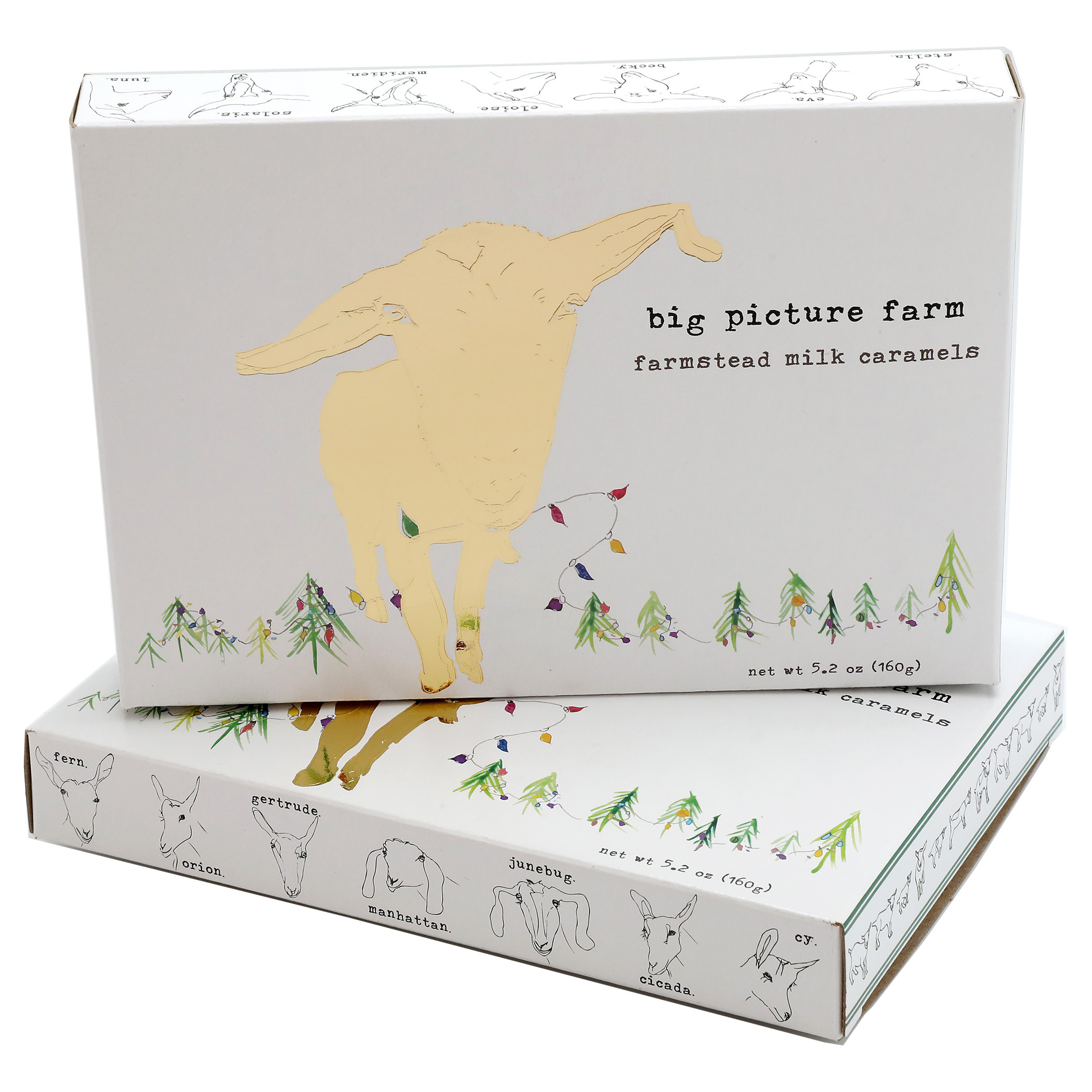 big picture farm goat caramels gift box