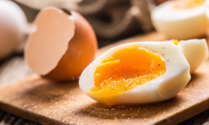 Researchers suggest we eat around half an egg a day. (Marian Weyo/Shutterstock)