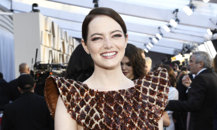Emma Stone attends the 91st Annual Academy Awards at Hollywood and Highland in Hollywood, Calif. on Feb. 24, 2019 (Kevork Djansezian/Getty Images)