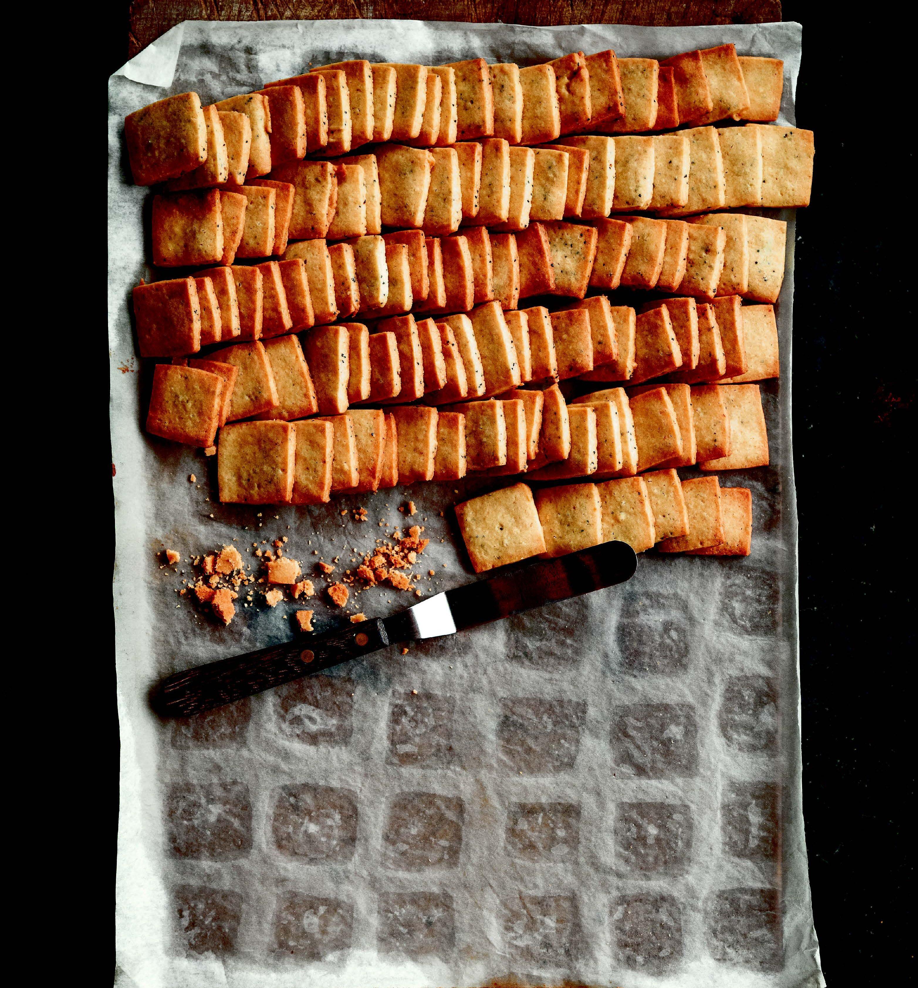 poppy seed Shortbread cookies