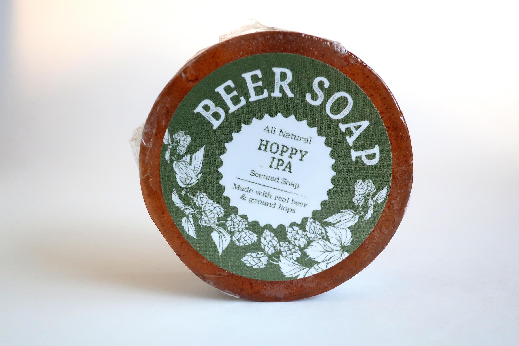 swag brewery beer soap