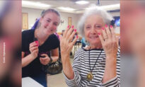 Teens Bring Smiles to Senior Citizens in Assisted Living Through Makeovers