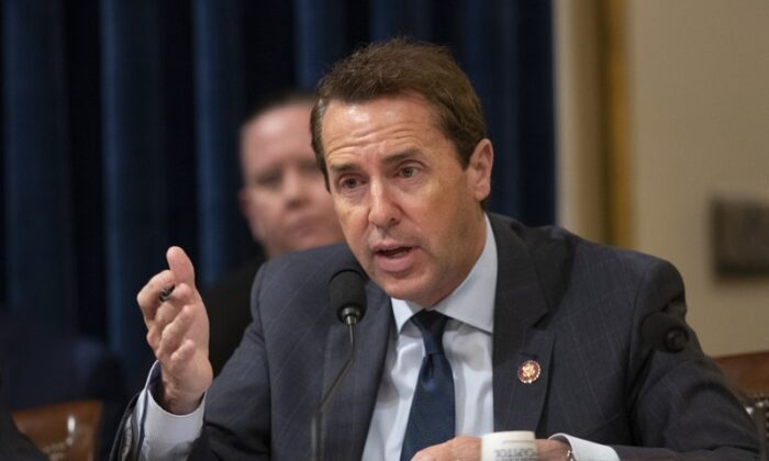 Rep. Mark Walker (R-N.C.) speaks during a hearing on Capitol Hill in Washington on Sept. 18, 2019. (Manuel Balce Ceneta, File/AP Photo)